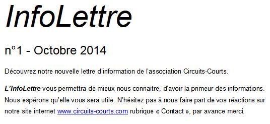 2104 1ère InfoLettre-Oct 2014
